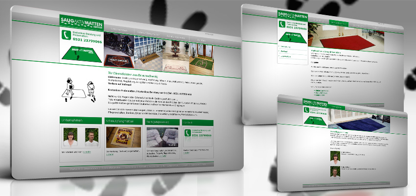 Webpage 3D display